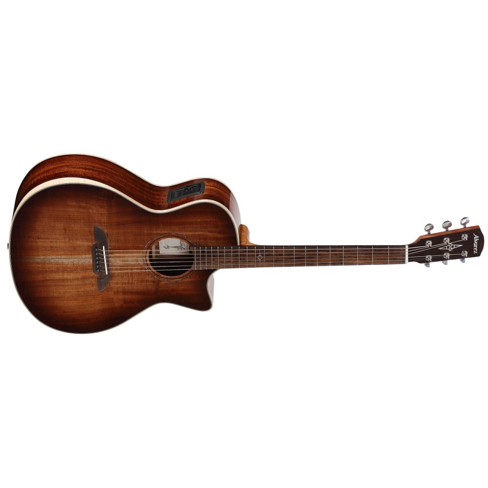 alvarez aga99cearshb acoustic electric guitar natural acacia finish. Black Bedroom Furniture Sets. Home Design Ideas