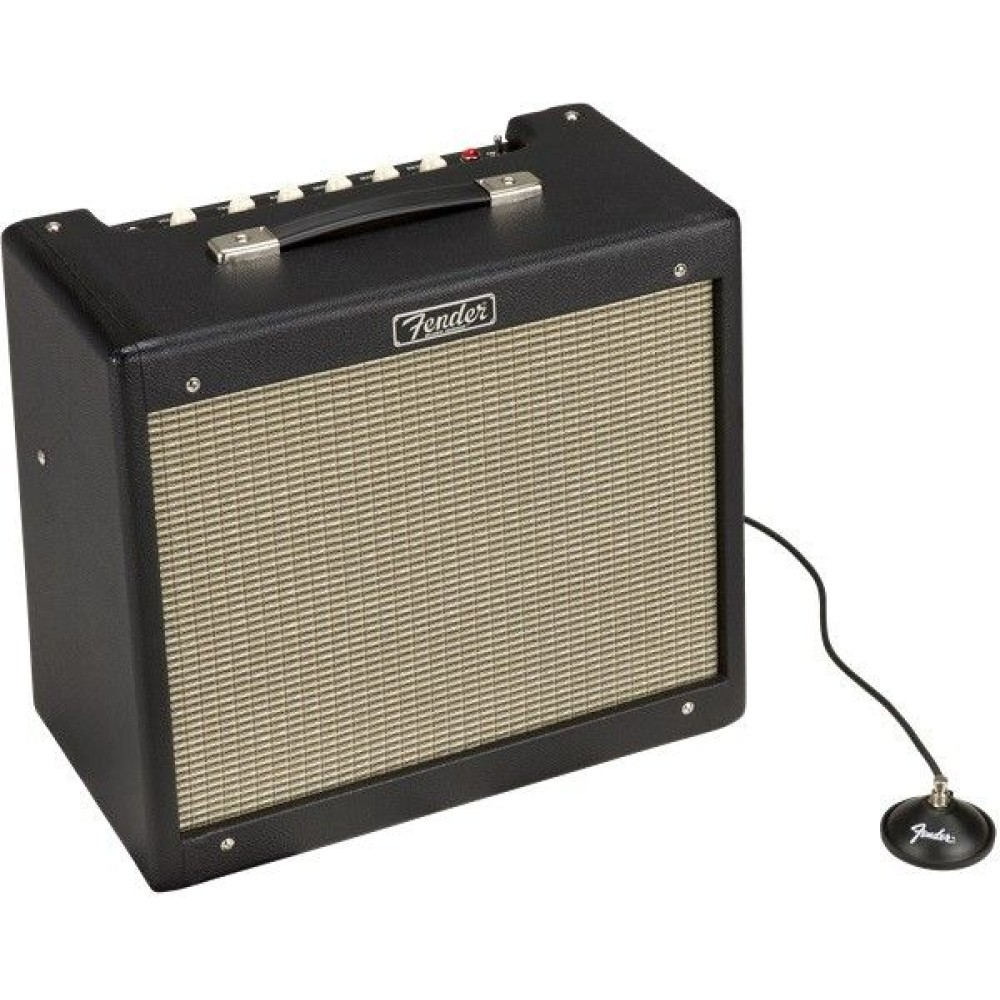 fender blues junior iv black electric guitar amplifier. Black Bedroom Furniture Sets. Home Design Ideas