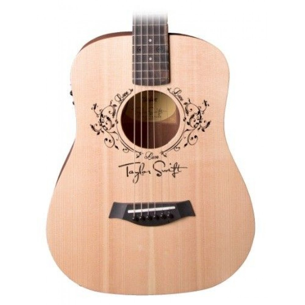 taylor swift baby taylor tsbte 1 2 size acoustic electric guitar. Black Bedroom Furniture Sets. Home Design Ideas