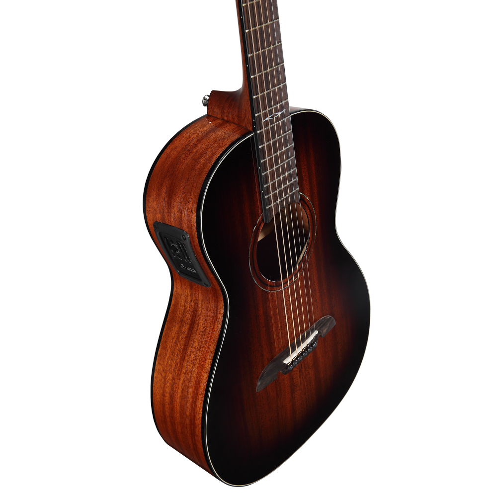 alvarez ap66eshb acoustic electric parlor guitar shadow burst. Black Bedroom Furniture Sets. Home Design Ideas