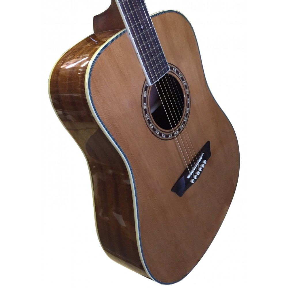 washburn wd11s dreadnought acoustic guitar solid cedar top mahagony back and sides. Black Bedroom Furniture Sets. Home Design Ideas