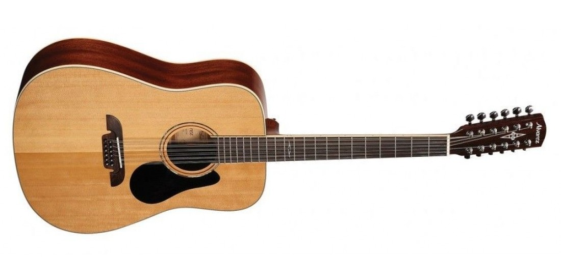 Alvarez AD60-12 Acoustic 12 String Guitar Natural Finish