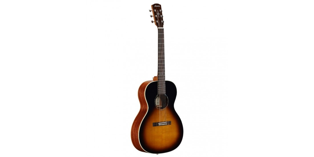 Alvarez DELTA00-TSB Jazz and Blues Series 14th Fret Acoustic Solid Sitka Spruce Top Tabacco Sunburst Finish