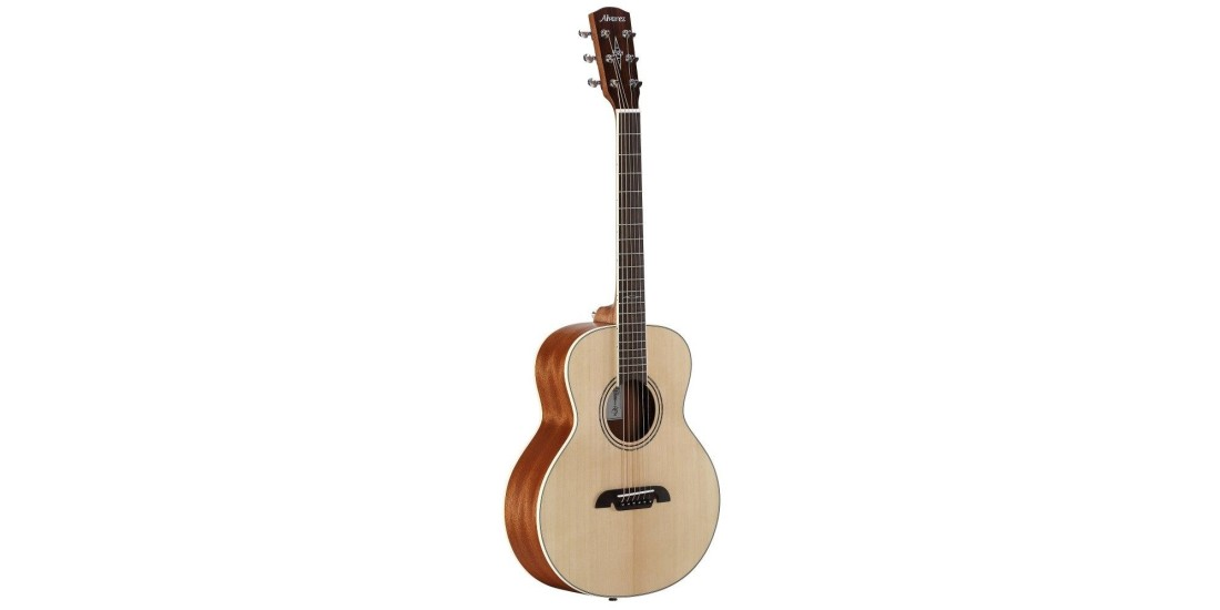 Alvarez LJ2E Little Jumbo Acoustic Electric Travel Size Guitar Natural Finish
