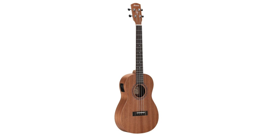 Alvarez RU22BE Regent Baritone Ukulele Acoustic Electric with EQ and Tuner