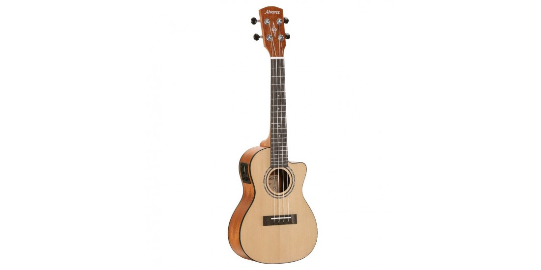 Alvarez RU26CCE Regent Concert Ukulele Acoustic Electric with EQ and Tuner