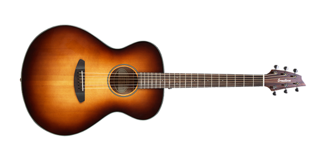 Breedlove Discovery Concert Sunburst Acoustic Guitar Sitka-Mahogany