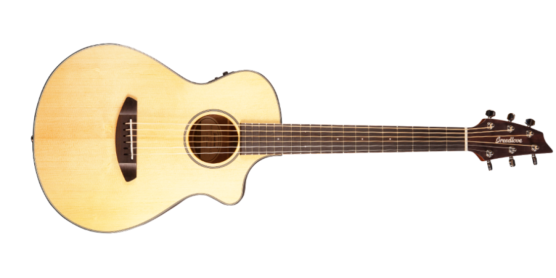 Breedlove Discovery Companion Cutaway Acoustic Electric Guitar Sitka-Mahogany $50 Price Drop!