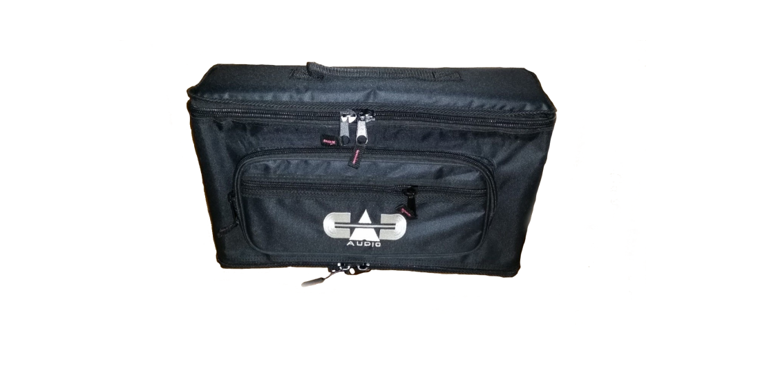 CAD Rack Bag for 1 or 2 Wireless Microphone or In Ear Monitor Systems