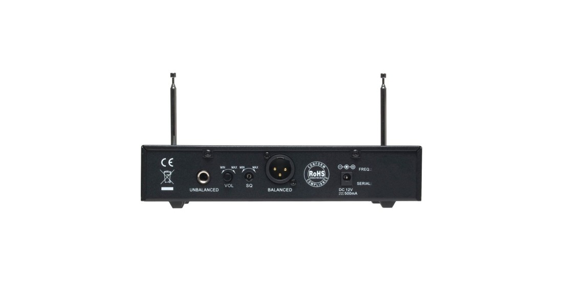 CAD StagePass WX1220 VHF Handheld and Bodypack Wireless Microphone System