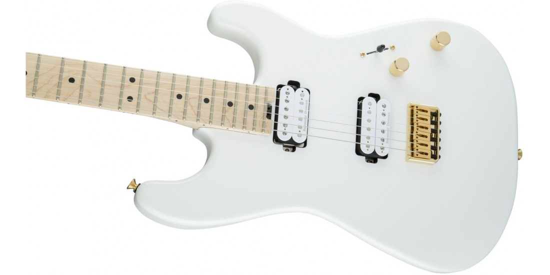 Open Box - Charvel Pro-Mod San Dimas Style 1 HH HT Maple Fingerboard Snow White