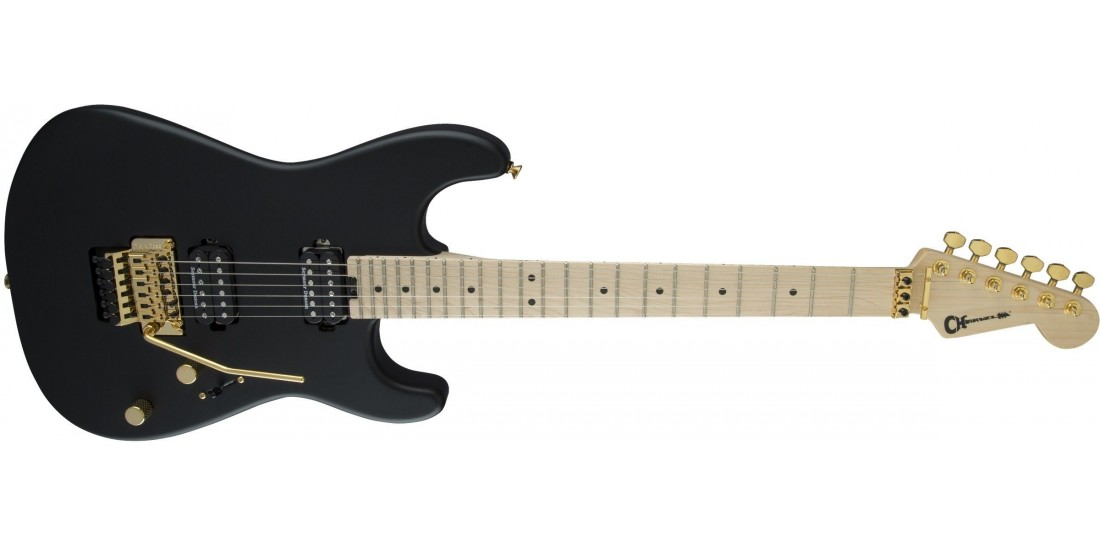 Charvel Pro-Mod San Dimas Style 1 HH FR Maple Fingerboard Satin Black -Open Box