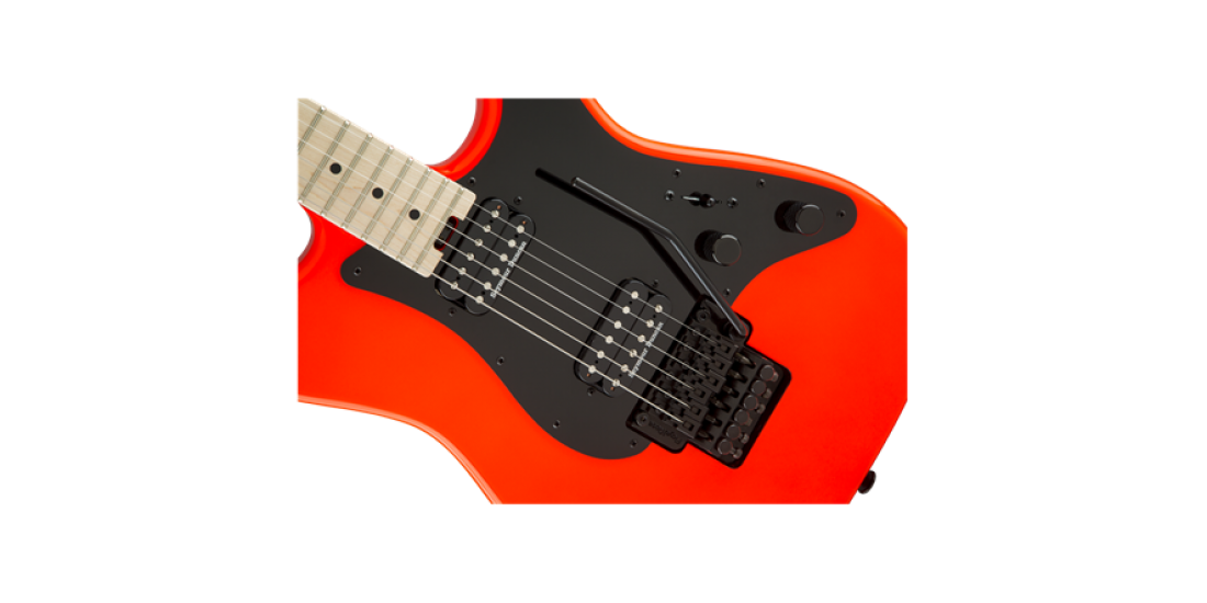Open Box - Charvel Pro Mod So Cal Style 1 HH FR Maple Fingerboard Red Rocket