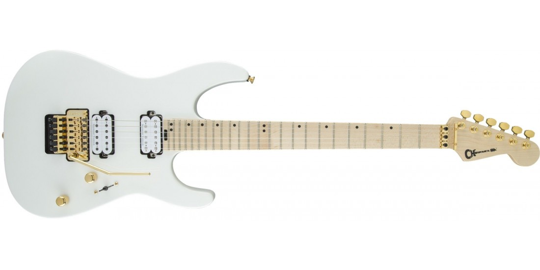 Open Box - Charvel Pro Mod DK24 HH FR Maple Fingerboard Snow White