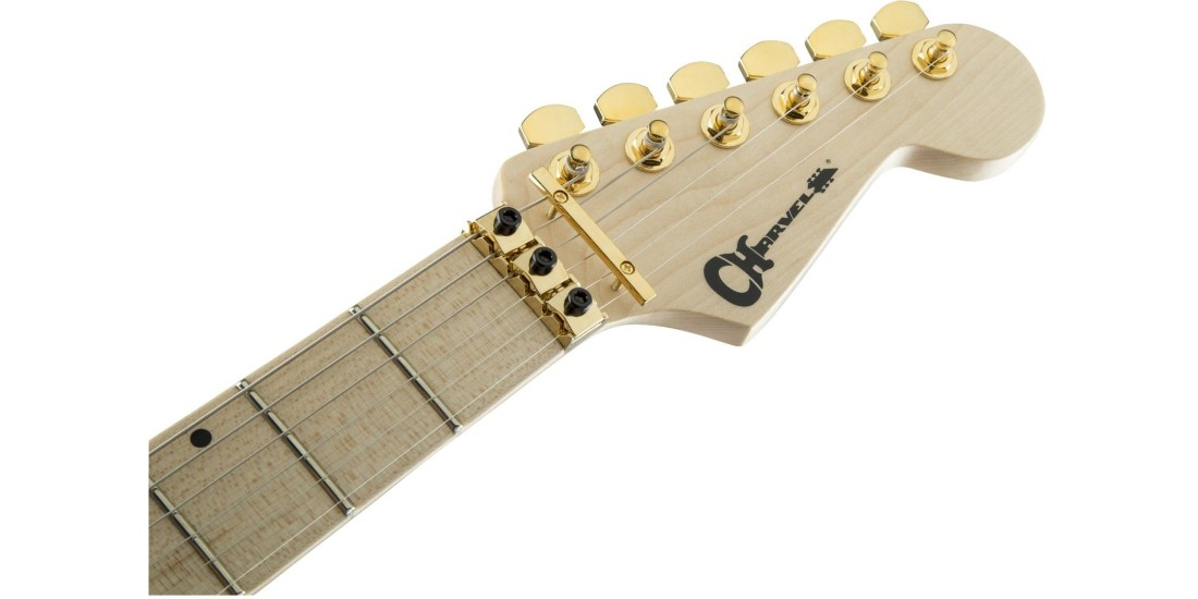 Charvel Pro Mod DK24 HH FR Maple Fingerboard Snow White
