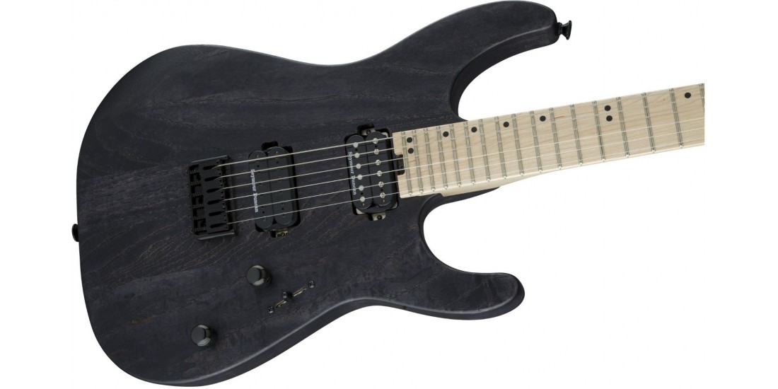 Charvel Pro Mod DK24 HH HT Ash Maple Fingerboard Charcoal Gray -Open Box