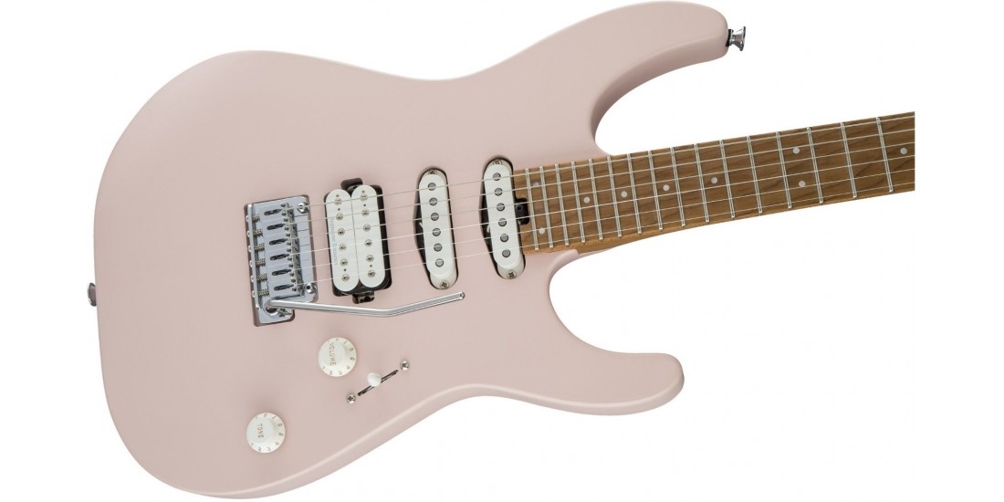 Open Box - Charvel Pro Mod DK24 Maple Neck Shell Pink