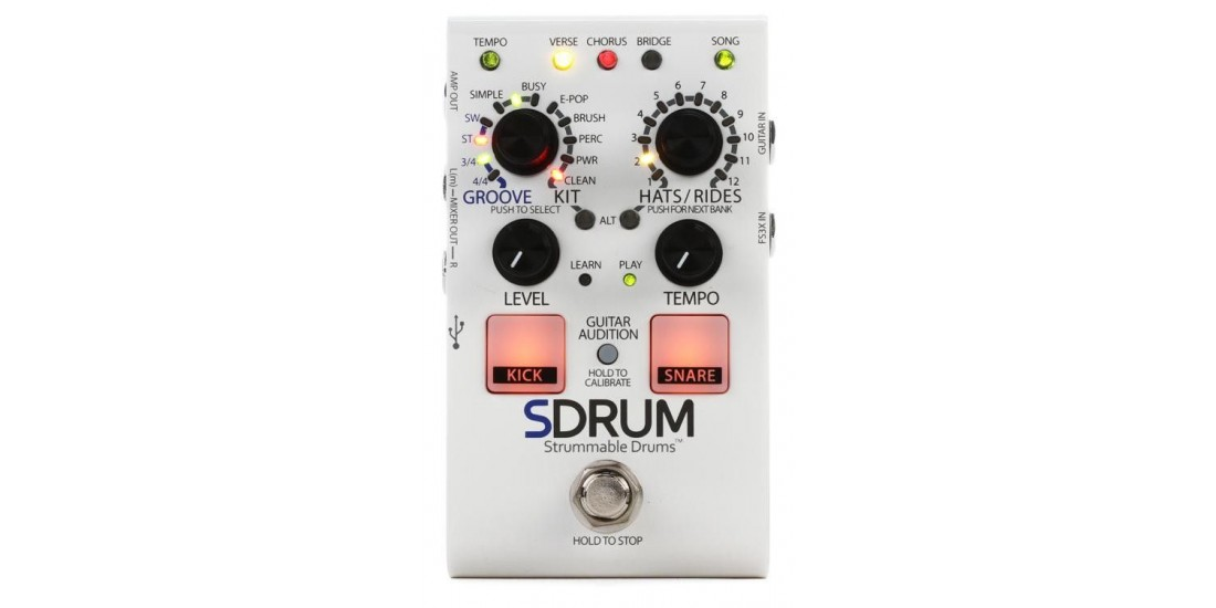 Digitech SDRUM Guitar Drum Pedal