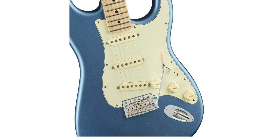 Fender American Performer Stratocaster Maple Fingerboard Satin Lake Placid Blue