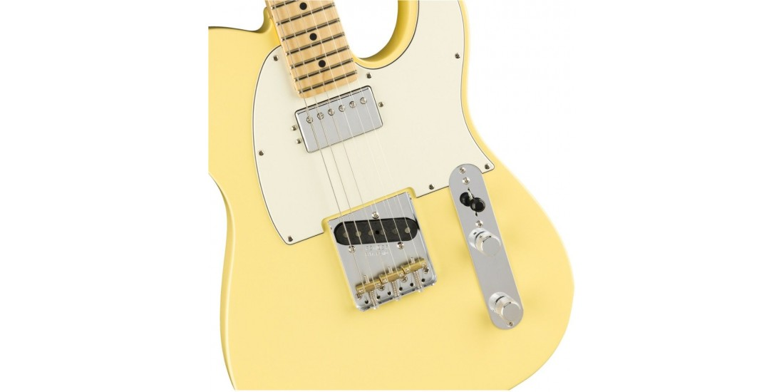 Fender American Performer Telecaster with Humbucking Maple Fingerboard Vintage White