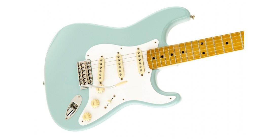 Open Box - Fender Classic 50s Stratocaster Electric Guitar Daphne Blue