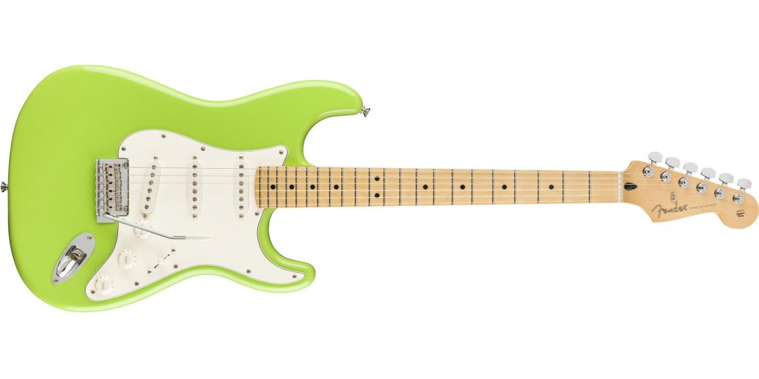 Fender Player FSR Stratocaster Maple Fingerboard Electron Green