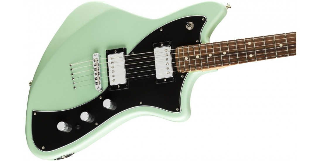 Open Box - Fender Meteora Pau Ferro Fingerboard Surf Green