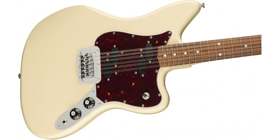 Fender Electric XII Pau Ferro Fingerboard Olympic White
