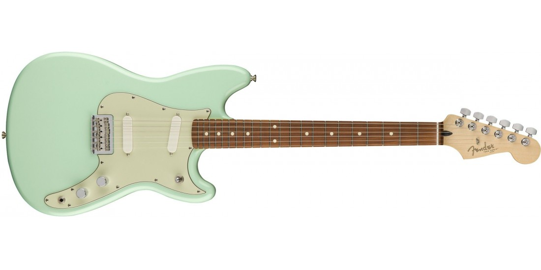 Fender Duo-Sonic Pau Ferro Fingerboard Surf Green