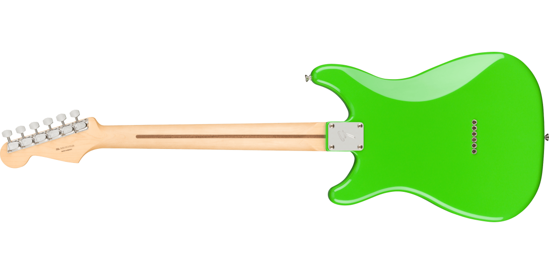 Fender Player Series Player Lead II Electric Guitar Maple Neck neon green