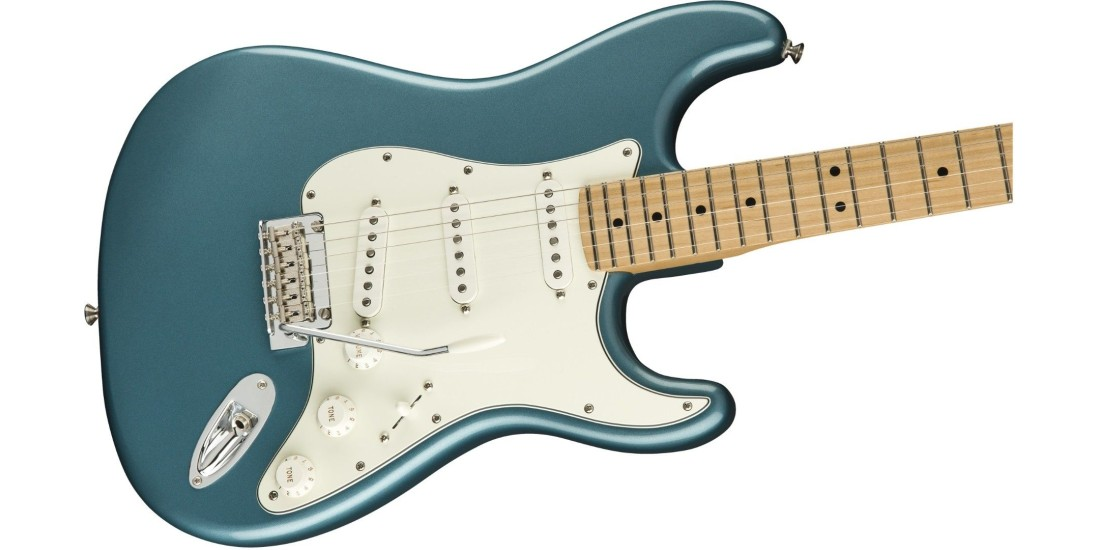 Fender Player Series Stratocaster Guitar Maple Neck Tidepool