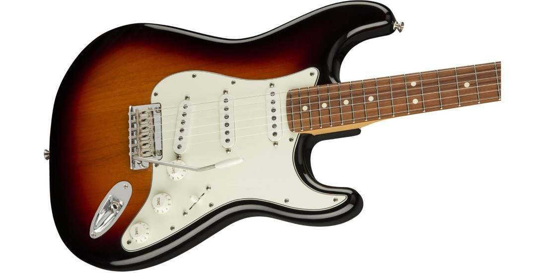 Fender Player Series Stratocaster Electric Guitar Pau Ferro Fretboard 3-Color Sunburst