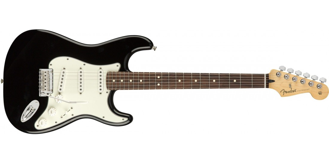 Fender Player Series Stratocaster Electric Guitar Pau Ferro Fretboard Black