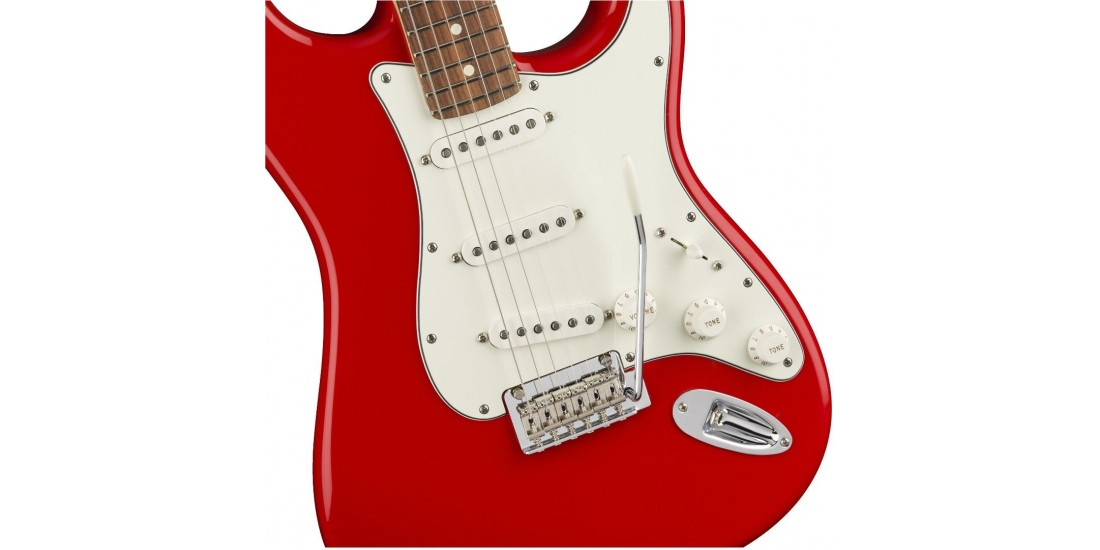 Fender Player Series Stratocaster Electric Guitar Pau Ferro Fretboard Sonic Red