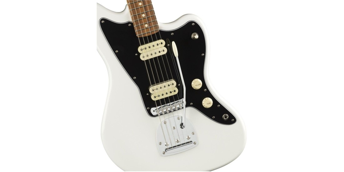 Fender Player Series Jazzmaster Electric Guitar Pau Ferro Fretboard Polar White