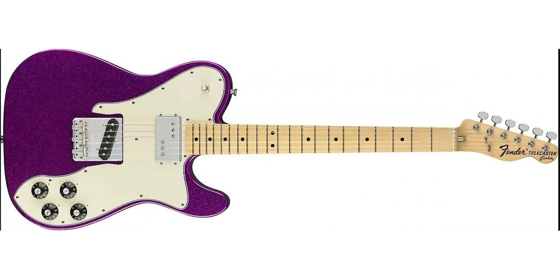 Fender Limited Edition 72 Custom Purple Sparkle