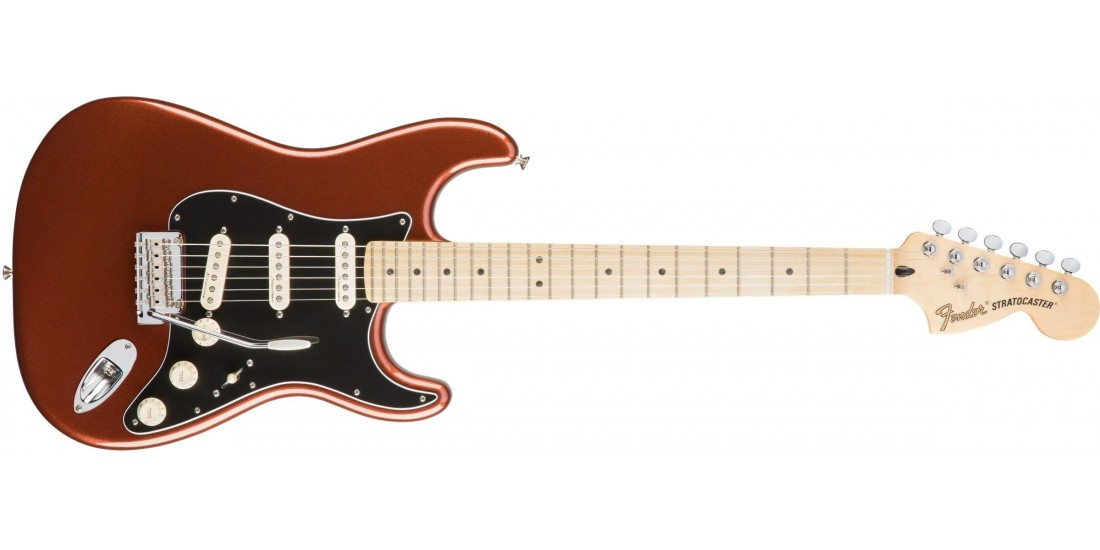 Open Box - Fender Deluxe Roadhouse Stratocaster Alder Body Classic Copper
