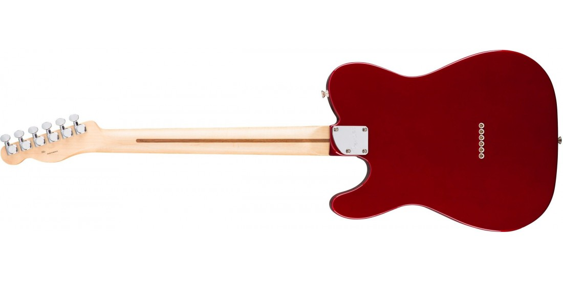 Open Box - Fender Deluxe Telecaster Thinline Candy Apple Red