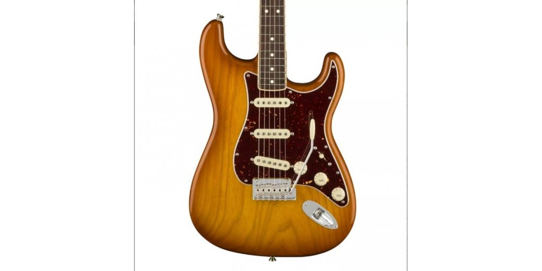 Open Box - Fender Limited Edition American Pro Stratocaster Honey Burst
