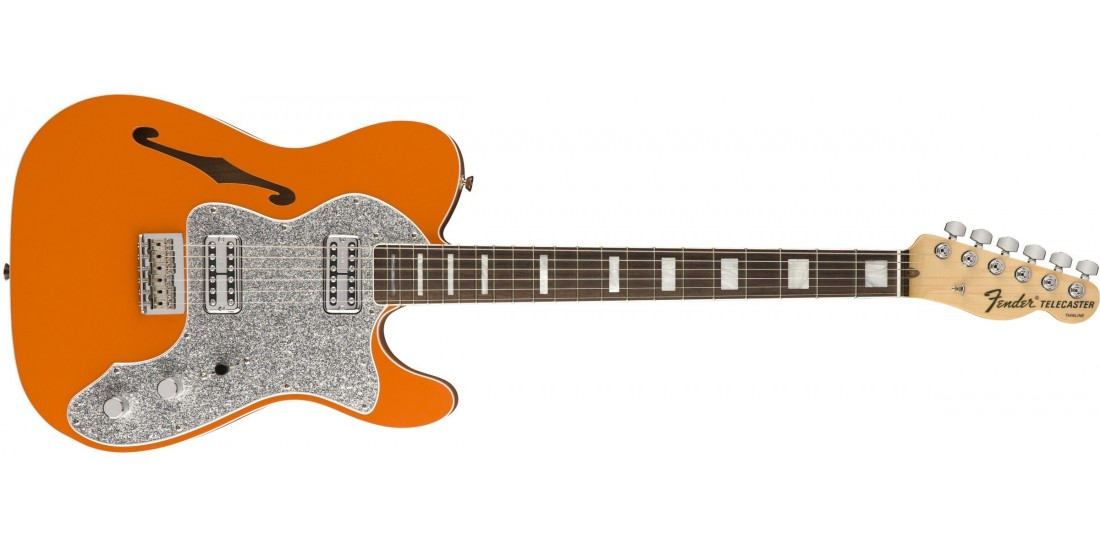 Open Box - Fender Limited Edition Tele Thinline Super Orange