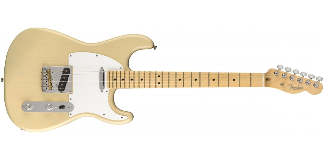 Fender Limited Edition Whiteguard Stratocaster Maple Fingerboard Vintage Blonde