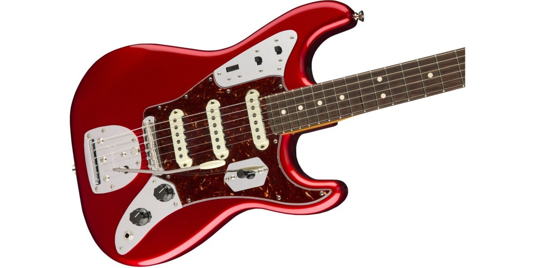 Fender Limited Edition Jag Stratocaster Rosewood Fingerboard Candy Apple Red