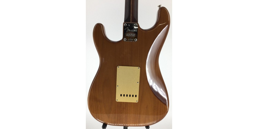 Fender Rarities Quilt Maple Top Stratocaster Rosewood FB Serial# LE07587 8.5lbs
