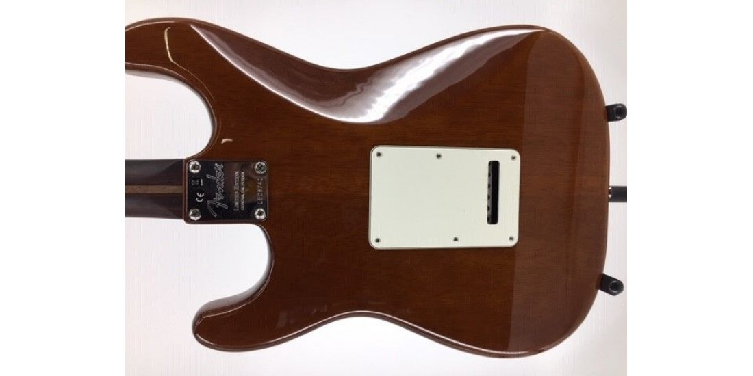 Fender Rarities Stratocaster Thinline HSS Solid Rosewood Neck Violin Burst Ser# LE08741 7.50lbs