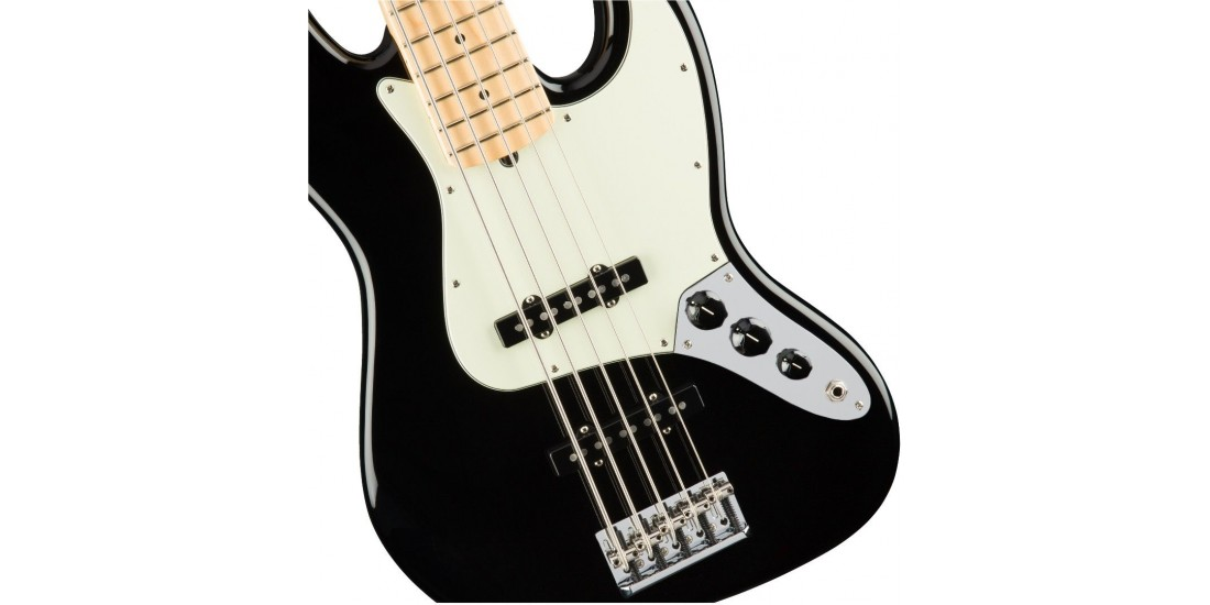 Fender American Pro Jazz Bass V Maple Fingerboard Black