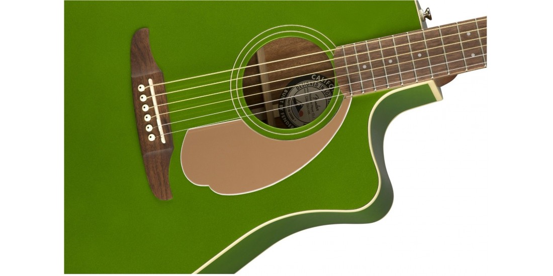 Fender Redondo Player Electric Acoustic Electric Jade Guitar with Walnut Fretboard