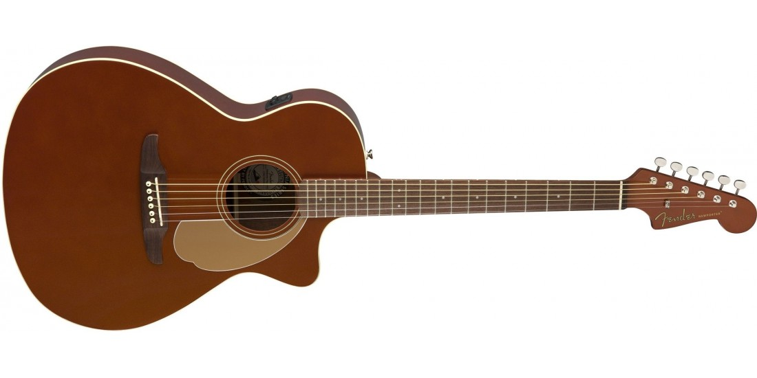 Fender Newporter Player with Solid Spruce Top and Mahogany Back Sides
