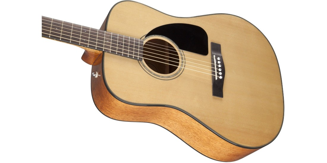 Fender CD-60 Dreadnought V3 w/Case Walnut Fingerboard Natural