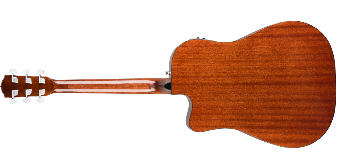 Fender CD-140SCE Dreadnought Walnut Fingerboard All-Mahogany with Case
