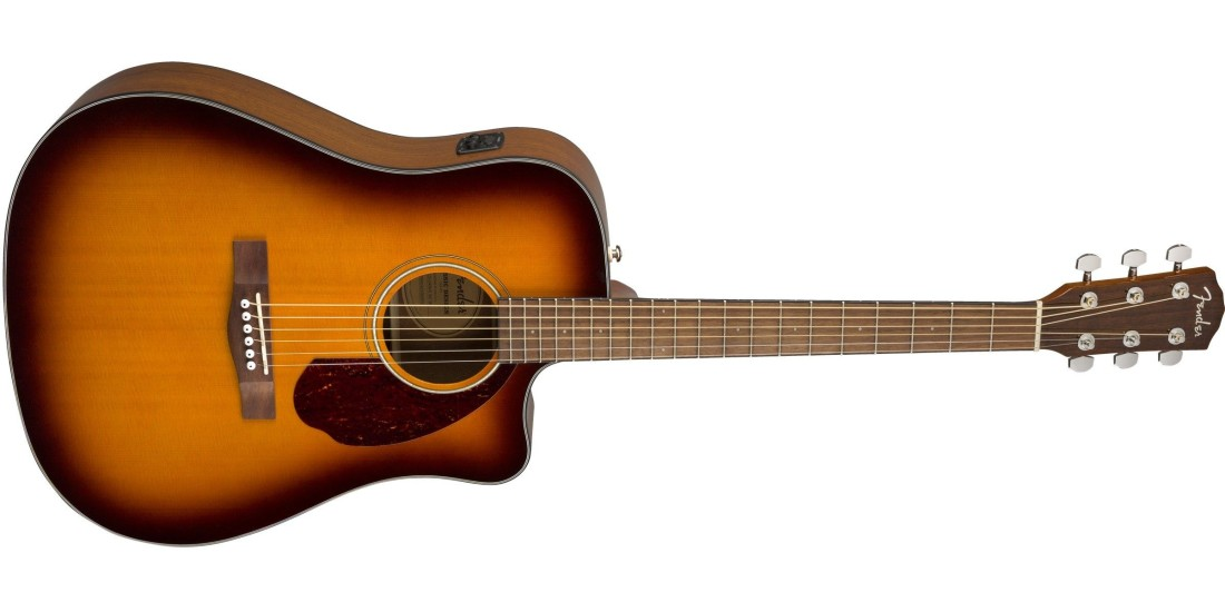 Fender CD-140SCE Dreadnought Walnut Fingerboard Sunburst with Case